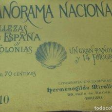 Coleccionismo de Revistas y Periódicos: PANORAMA NACIONAL BELLEZAS DE ESPAÑA Y SUS COLONIAS N°10. Lote 211684356