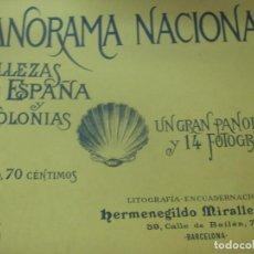 Coleccionismo de Revistas y Periódicos: PANORAMA NACIONAL BELLEZAS DE ESPAÑA Y SUS COLONIAS N° 5. Lote 211684689