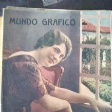 Coleccionismo de Revistas y Periódicos: MUNDO GRAFICO AÑO VIII NUM 379 27 DE NOVIEMBRE DE 1918 MERCEDES FARRY. Lote 211685053