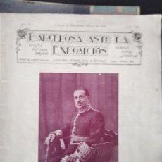 Coleccionismo de Revistas y Periódicos: BARCELONA ANTE LA EXPOSICION REVISTA ILUSTRADA MENSUAL CIUDAD DE BARCELONA MARZO DE 1929 AÑO II NUM. Lote 211685256