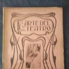 Coleccionismo de Revistas y Periódicos: EL ARTE DEL TEATRO NUMERO 10 LA CAVALIERI 1903 JOSE RUBIO EMMA CALVE EN LA CARMELITA. Lote 211685650