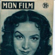 Coleccionismo de Revistas y Periódicos: MON FILM-LA BELLA OTERO-PELÍCULA MARÍA FELIX- AÑO 1955. Lote 211686180