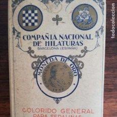 Coleccionismo de Revistas y Periódicos: MUESTRARIO/CATÁLOGO DE HILOS AÑO 1936. Lote 211688453