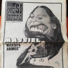 Coleccionismo de Revistas y Periódicos: REVISTA EL MUSIQUERO Nº 13 MASSIEL BARBARA STREISAND MOCEDADES ANA BELEN JOAN BAEZ WHO ELKIN NELSON. Lote 211822568
