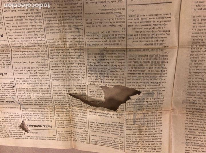 Coleccionismo de Revistas y Periódicos: TRADICIÓN VASCA (SEMANARIO TRADICIONALISTA), BILBAO 18 SEPTIEMBRE DE 1909. - Foto 2 - 211833526