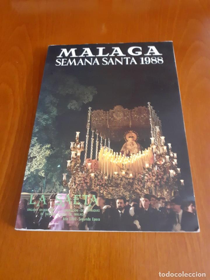REVISTA LA SAETA SEMANA SANTA 1988 (Coleccionismo - Revistas y Periódicos Modernos (a partir de 1.940) - Otros)