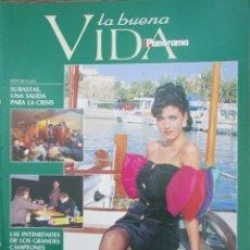 Collezionismo di Riviste e Giornali: RECORTE REVISTA PANORAMA Nº 297 1993 EUGENIA SANTANA. MISS ESPAÑA 3 PGS. Lote 211870192