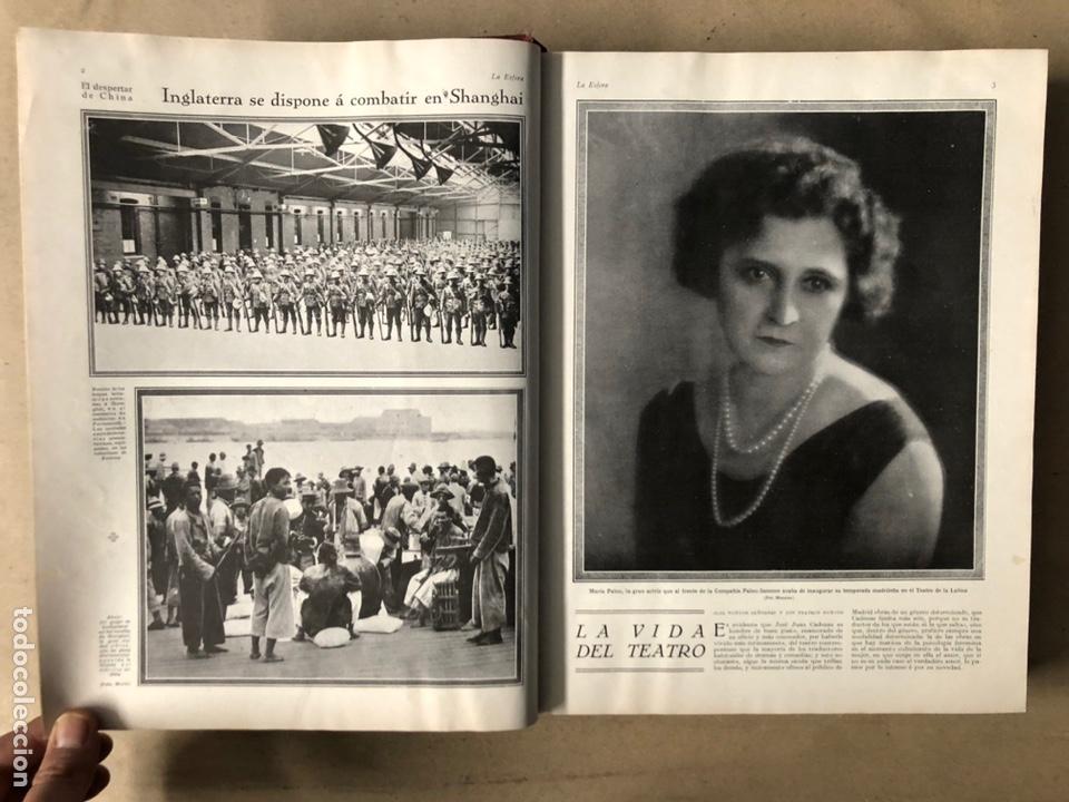 Coleccionismo de Revistas y Periódicos: LA ESFERA ILUSTRACIÓN MUNDIAL (1927). LOTE DE 16 REVISTAS ENCUADERNADAS. - Foto 2 - 211900152