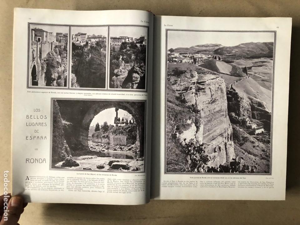 Coleccionismo de Revistas y Periódicos: LA ESFERA ILUSTRACIÓN MUNDIAL (1927). LOTE DE 16 REVISTAS ENCUADERNADAS. - Foto 3 - 211900152