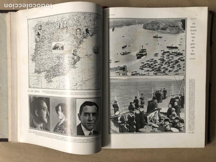 Coleccionismo de Revistas y Periódicos: LA ESFERA ILUSTRACIÓN MUNDIAL (1927). LOTE DE 16 REVISTAS ENCUADERNADAS. - Foto 9 - 211900152