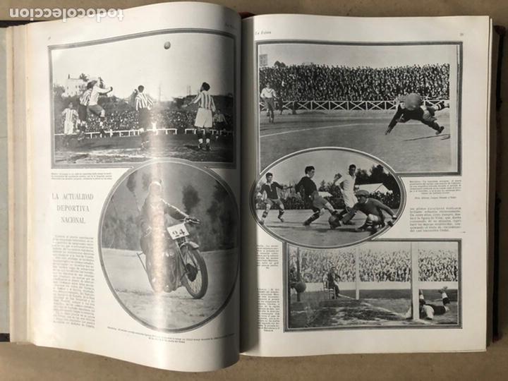Coleccionismo de Revistas y Periódicos: LA ESFERA ILUSTRACIÓN MUNDIAL (1927). LOTE DE 16 REVISTAS ENCUADERNADAS. - Foto 11 - 211900152