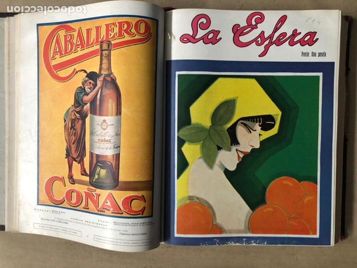 Coleccionismo de Revistas y Periódicos: LA ESFERA ILUSTRACIÓN MUNDIAL (1927). LOTE DE 16 REVISTAS ENCUADERNADAS. - Foto 12 - 211900152