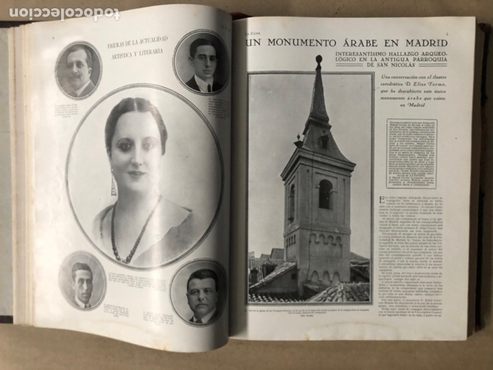 Coleccionismo de Revistas y Periódicos: LA ESFERA ILUSTRACIÓN MUNDIAL (1927). LOTE DE 16 REVISTAS ENCUADERNADAS. - Foto 13 - 211900152