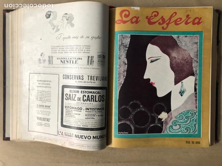 Coleccionismo de Revistas y Periódicos: LA ESFERA ILUSTRACIÓN MUNDIAL (1927). LOTE DE 16 REVISTAS ENCUADERNADAS. - Foto 17 - 211900152