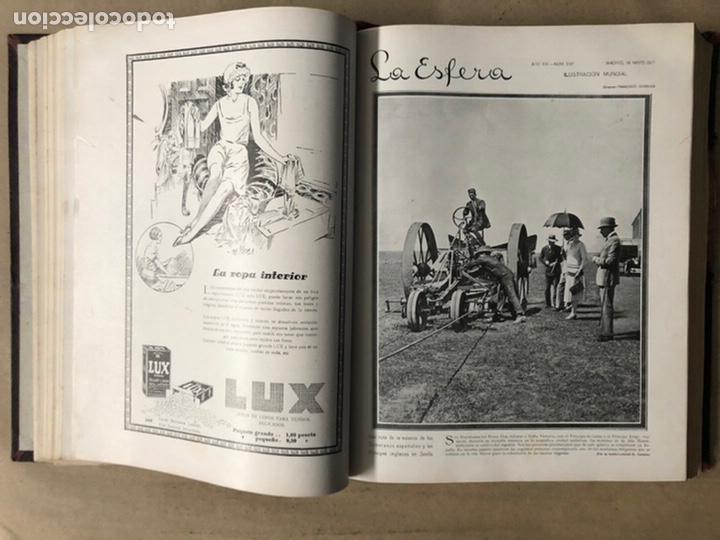 Coleccionismo de Revistas y Periódicos: LA ESFERA ILUSTRACIÓN MUNDIAL (1927). LOTE DE 16 REVISTAS ENCUADERNADAS. - Foto 18 - 211900152