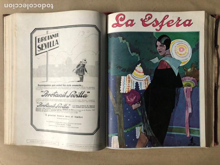 Coleccionismo de Revistas y Periódicos: LA ESFERA ILUSTRACIÓN MUNDIAL (1927). LOTE DE 16 REVISTAS ENCUADERNADAS. - Foto 21 - 211900152