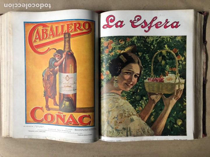 Coleccionismo de Revistas y Periódicos: LA ESFERA ILUSTRACIÓN MUNDIAL (1927). LOTE DE 16 REVISTAS ENCUADERNADAS. - Foto 24 - 211900152