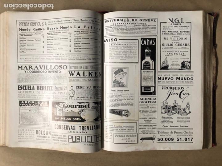 Coleccionismo de Revistas y Periódicos: LA ESFERA ILUSTRACIÓN MUNDIAL (1927). LOTE DE 16 REVISTAS ENCUADERNADAS. - Foto 25 - 211900152