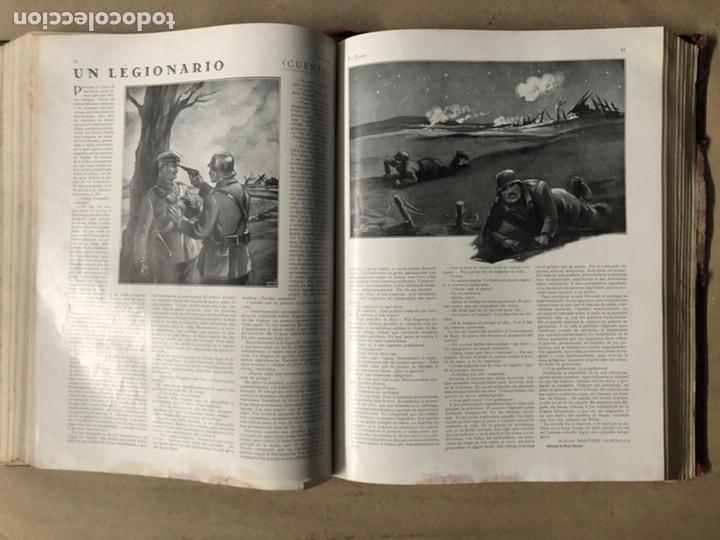 Coleccionismo de Revistas y Periódicos: LA ESFERA ILUSTRACIÓN MUNDIAL (1927). LOTE DE 16 REVISTAS ENCUADERNADAS. - Foto 27 - 211900152