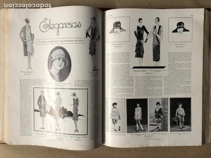 Coleccionismo de Revistas y Periódicos: LA ESFERA ILUSTRACIÓN MUNDIAL (1927). LOTE DE 16 REVISTAS ENCUADERNADAS. - Foto 32 - 211900152