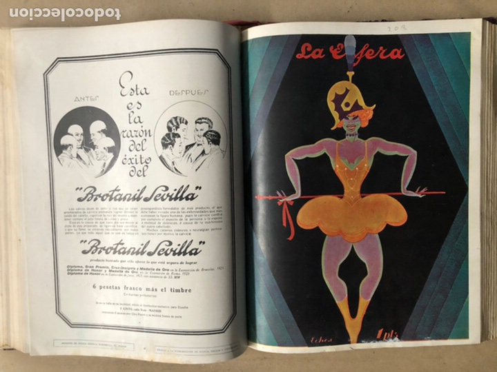 Coleccionismo de Revistas y Periódicos: LA ESFERA ILUSTRACIÓN MUNDIAL (1927). LOTE DE 16 REVISTAS ENCUADERNADAS. - Foto 33 - 211900152
