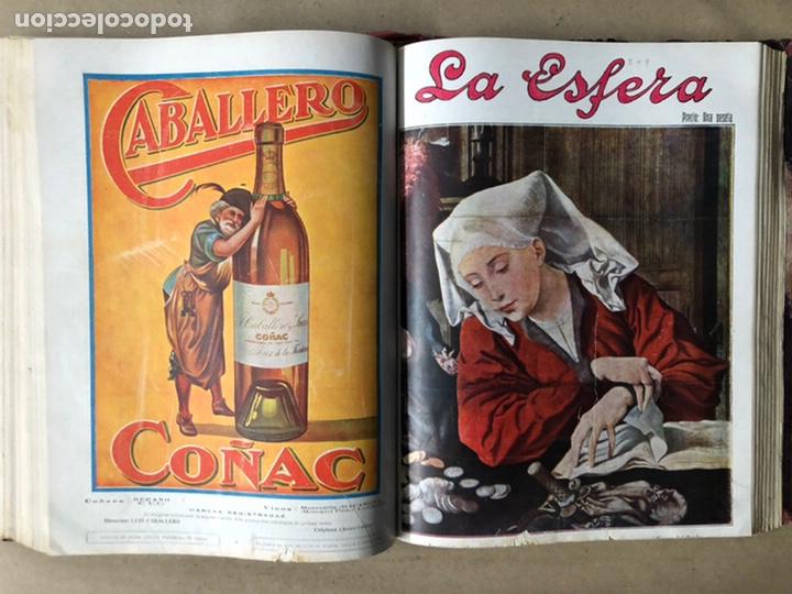 Coleccionismo de Revistas y Periódicos: LA ESFERA ILUSTRACIÓN MUNDIAL (1927). LOTE DE 16 REVISTAS ENCUADERNADAS. - Foto 37 - 211900152