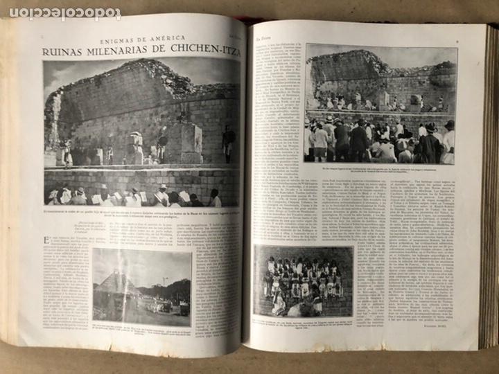Coleccionismo de Revistas y Periódicos: LA ESFERA ILUSTRACIÓN MUNDIAL (1927). LOTE DE 16 REVISTAS ENCUADERNADAS. - Foto 38 - 211900152