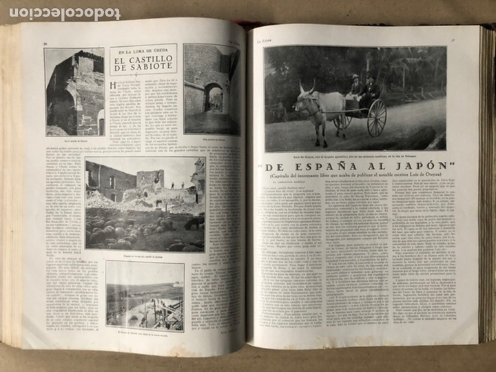 Coleccionismo de Revistas y Periódicos: LA ESFERA ILUSTRACIÓN MUNDIAL (1927). LOTE DE 16 REVISTAS ENCUADERNADAS. - Foto 40 - 211900152