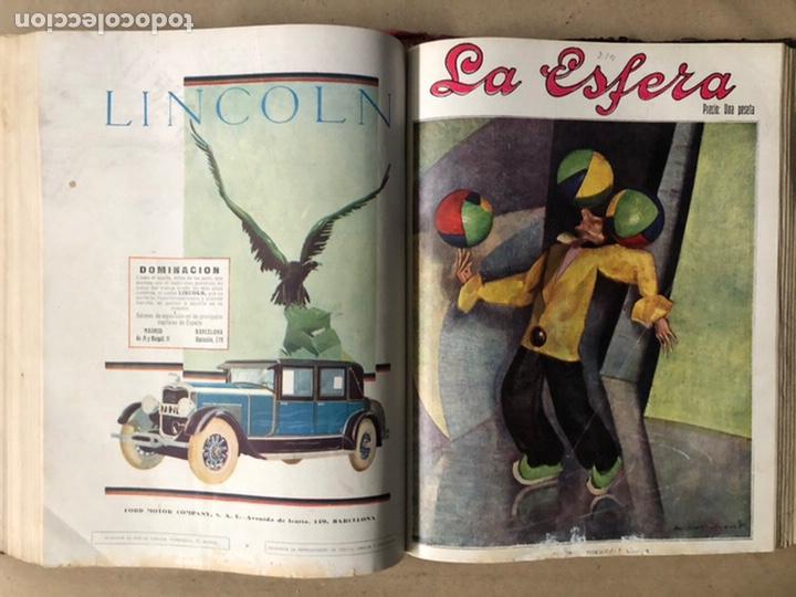 Coleccionismo de Revistas y Periódicos: LA ESFERA ILUSTRACIÓN MUNDIAL (1927). LOTE DE 16 REVISTAS ENCUADERNADAS. - Foto 41 - 211900152