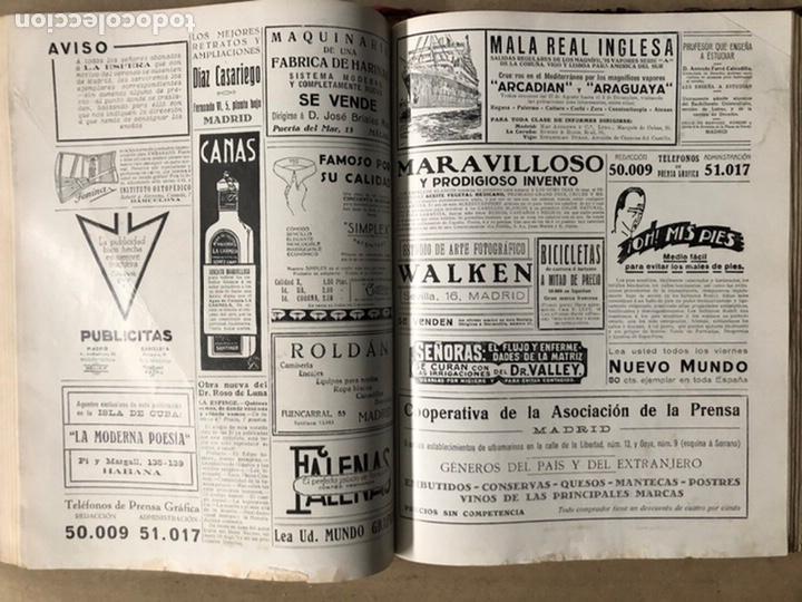 Coleccionismo de Revistas y Periódicos: LA ESFERA ILUSTRACIÓN MUNDIAL (1927). LOTE DE 16 REVISTAS ENCUADERNADAS. - Foto 42 - 211900152