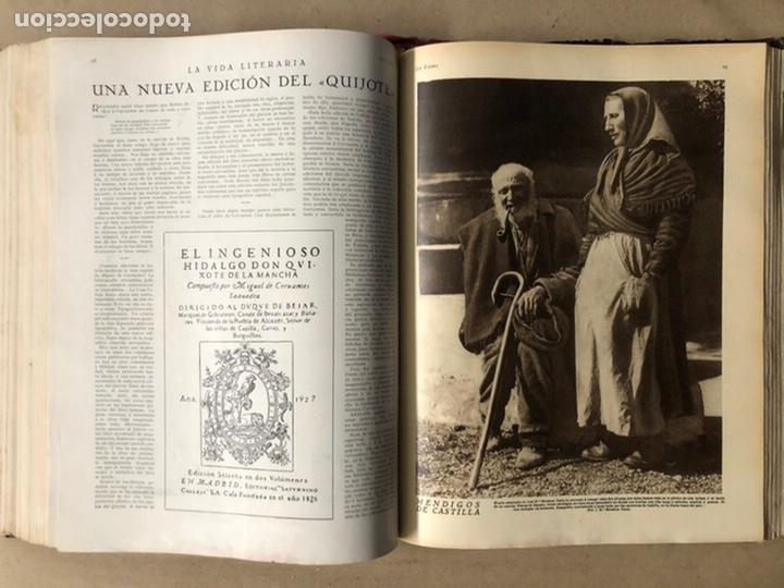 Coleccionismo de Revistas y Periódicos: LA ESFERA ILUSTRACIÓN MUNDIAL (1927). LOTE DE 16 REVISTAS ENCUADERNADAS. - Foto 44 - 211900152