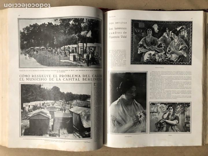 Coleccionismo de Revistas y Periódicos: LA ESFERA ILUSTRACIÓN MUNDIAL (1927). LOTE DE 16 REVISTAS ENCUADERNADAS. - Foto 46 - 211900152