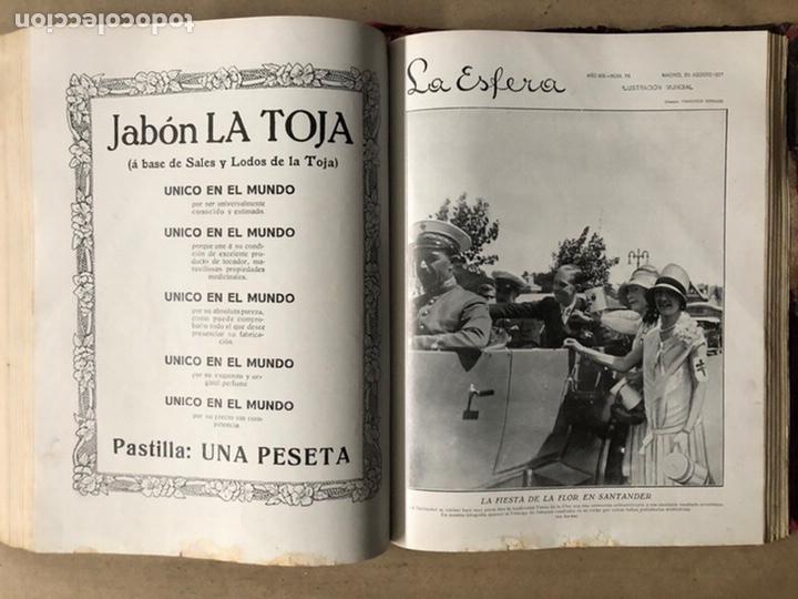 Coleccionismo de Revistas y Periódicos: LA ESFERA ILUSTRACIÓN MUNDIAL (1927). LOTE DE 16 REVISTAS ENCUADERNADAS. - Foto 47 - 211900152