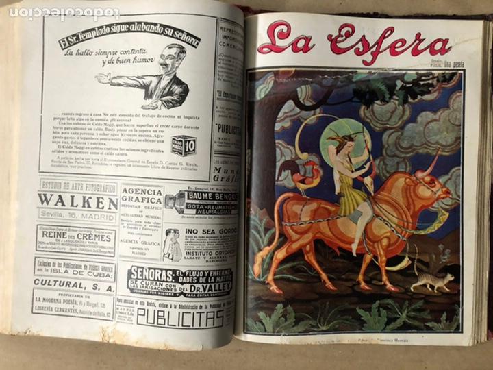 Coleccionismo de Revistas y Periódicos: LA ESFERA ILUSTRACIÓN MUNDIAL (1927). LOTE DE 16 REVISTAS ENCUADERNADAS. - Foto 51 - 211900152