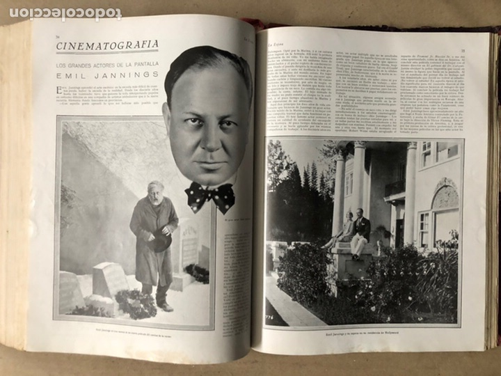 Coleccionismo de Revistas y Periódicos: LA ESFERA ILUSTRACIÓN MUNDIAL (1927). LOTE DE 16 REVISTAS ENCUADERNADAS. - Foto 54 - 211900152