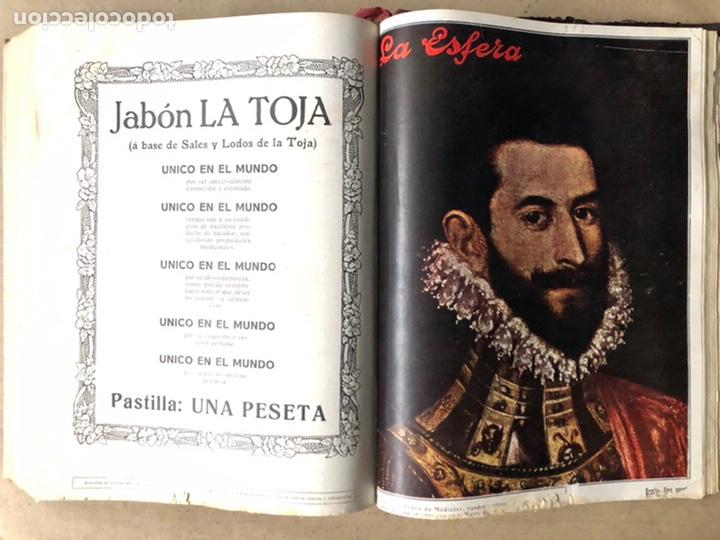 Coleccionismo de Revistas y Periódicos: LA ESFERA ILUSTRACIÓN MUNDIAL (1927). LOTE DE 16 REVISTAS ENCUADERNADAS. - Foto 58 - 211900152