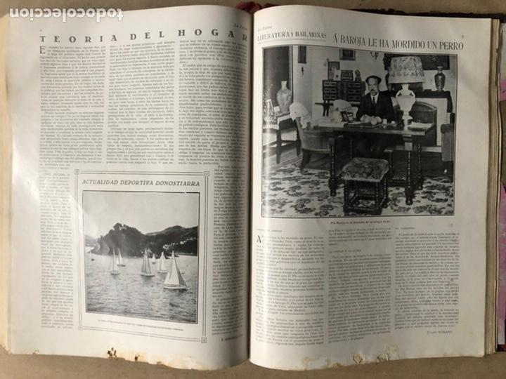 Coleccionismo de Revistas y Periódicos: LA ESFERA ILUSTRACIÓN MUNDIAL (1927). LOTE DE 16 REVISTAS ENCUADERNADAS. - Foto 59 - 211900152