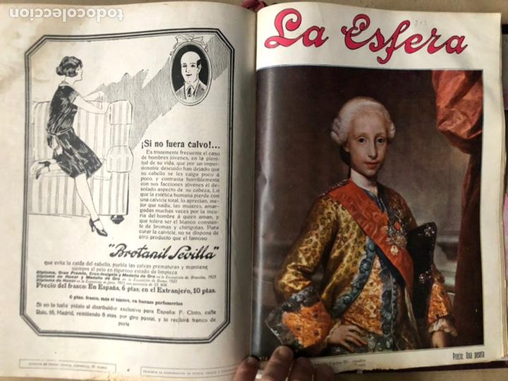Coleccionismo de Revistas y Periódicos: LA ESFERA ILUSTRACIÓN MUNDIAL (1927). LOTE DE 16 REVISTAS ENCUADERNADAS. - Foto 61 - 211900152