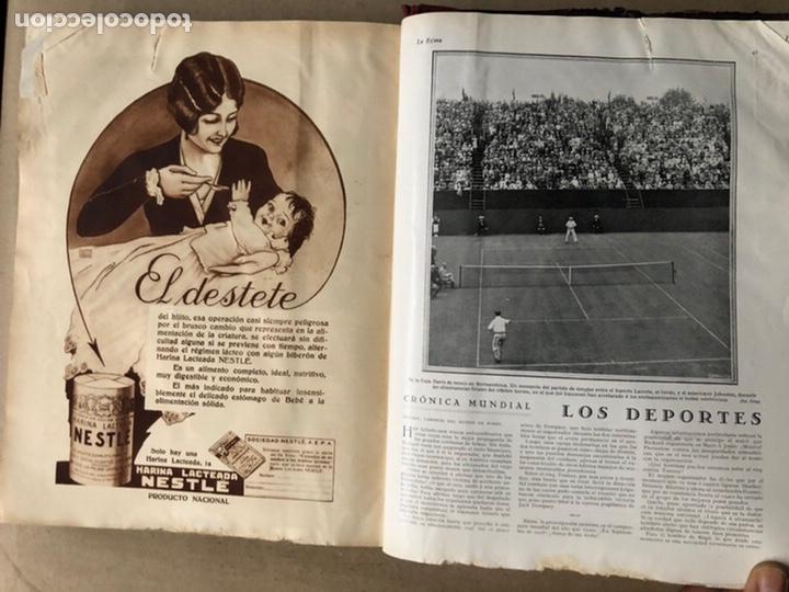 Coleccionismo de Revistas y Periódicos: LA ESFERA ILUSTRACIÓN MUNDIAL (1927). LOTE DE 16 REVISTAS ENCUADERNADAS. - Foto 63 - 211900152