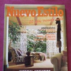 Coleccionismo de Revistas y Periódicos: REVISTA 234 NUEVO ESTILO DECORACIÓN MUEBLES SEPTIEMBRE 1997. Lote 212125411