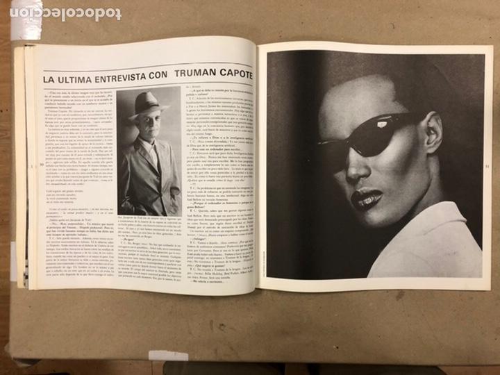 Coleccionismo de Revistas y Periódicos: INTERNACIONAL N° 1 (MADRID 1985). HISTÓRICA REVISTA FANZINE; GABINETE CALIGARI, TRUMAN CAPOTE,... - Foto 8 - 212221960