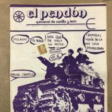 Coleccionismo de Revistas y Periódicos: EL PENDON QUINCENAL DE CASTILLA Y LEÓN N° 9 (SORIA 1978). HISTÓRICO FANZINE LIBERTARIO.. Lote 212224447