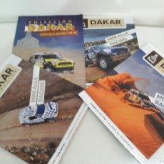 Coleccionismo de Revistas y Periódicos: RALLY DAKAR 4 REVISTAS MINI COOPER ALL4 RACING ORLY NASSER MOHAMED NANI. Lote 212225368