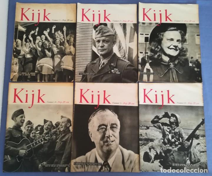 Coleccionismo de Revistas y Periódicos: Revistas aviación holandesas: Vliegwereld 1939-51 Avia 1946-51 Vliegsport 1935-39 y Kijk, más de 600 - Foto 10 - 212244936
