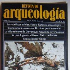 Coleccionismo de Revistas y Periódicos: REVISTA DE ARQUEOLOGIA N º 129. Lote 212321623