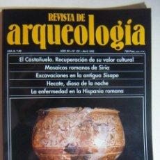 Coleccionismo de Revistas y Periódicos: REVISTA DE ARQUEOLOGIA N º 132. Lote 212321648