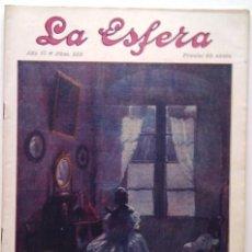 Coleccionismo de Revistas y Periódicos: LA ESFERA. ILUSTRACIÓN MUNDIAL. 31 DE MAYO DE 1919, N.º 283. ORIGNAL DE ÉPOCA.. Lote 212347921