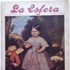 Coleccionismo de Revistas y Periódicos: LA ESFERA. ILUSTRACIÓN MUNDIAL. 5 DE ABRIL DE 1919, N.º 275. ORIGNAL DE ÉPOCA.. Lote 212348167