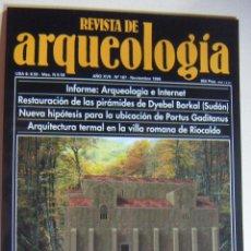 Coleccionismo de Revistas y Periódicos: REVISTA DE ARQUEOLOGIA N º 187. Lote 212405522