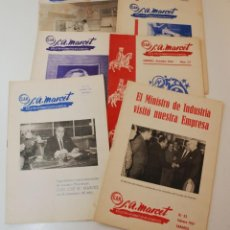 Coleccionismo de Revistas y Periódicos: BOLETÍN INFORMATIVO DE LA EMPRESA S.A MARCET (SABADELL). Lote 212464013